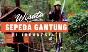 Sepeda Gantung di Indonesia